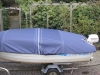 Schutzpersenning für Angelboot