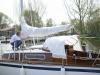 Segelboot Biga mit Cockpitzelt