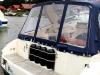 Cockpitzelt Motorboot