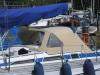 Dehler Segelboot Sprayhood und Cockpitzelt