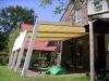 Sonnensegel/Terassendach am Haus